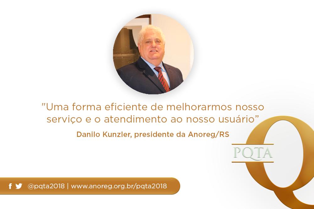 """""""Uma Forma Eficiente De Melhorarmos Nosso Serviço E No Atendimento Ao Nosso Usuário"""", Danilo Kunzler, Presidente Da Anoreg/RS"""