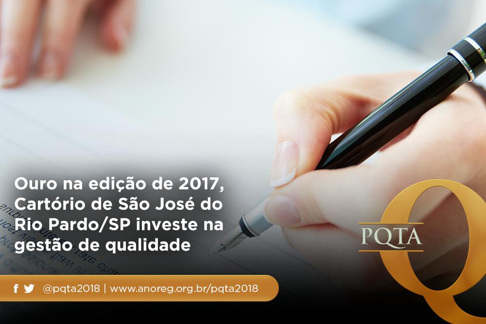 Cartório De São José Do Rio Pardo/SP Espera Conquistar A Categoria Diamante Em 2018
