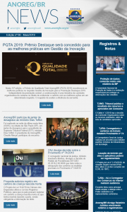 Anoreg News - Edição nº 66 - Mai_2019