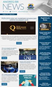 Anoreg News - Edição nº 67 - Mai_2019