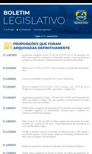 Boletim Legislativo nº 13